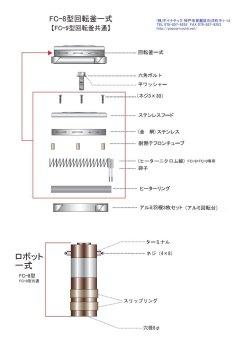 画像1: 綿菓子機部品(FC-8,FC-9用)